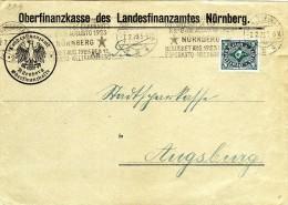 Esperanto Nurnberg 1923,cover,letter - Esperanto