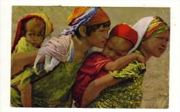 Cpa N° 117 Scènes Et Types D´Afrique Du Nord Maternité - Cartes Postales