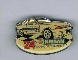 Nissan Francorchamps 1991 - Pins