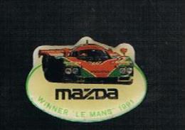 Mazda  Le Mans 1991 - Pins