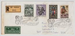 Österreich, Christkindl, 12.12.1969, Reco-Brief, Seltener Stp.   , S521 - 1961-70 Briefe U. Dokumente