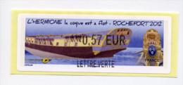 LISA 2 / HERMIONE 2012 - 2010-... Abgebildete Automatenmarke