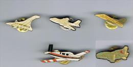 Lot De 5  Pins Avions - Avions