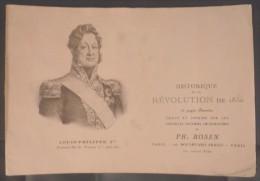 LIVRET HISTORIQUE DE LA REVOLUTION DE 1830. 16 Pages Illustrées De Philippe ROSEN - Autres