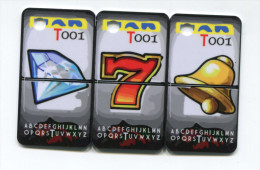 Sp�cimen prototype essai de carte de casino (secable en 3)
