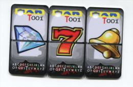 Spécimen Prototype Essai De Carte De Casino (secable En 3) - Cartes De Casino