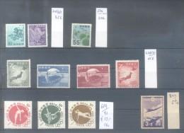 JAPON JAPAN LOTE LOT YVERT NRS. 429-32, 576, 702-3, 689-91 MNH PLUS 244 OBLITERE PLUS DE 230 EUROS YVERT COTATION - Collections, Lots & Séries