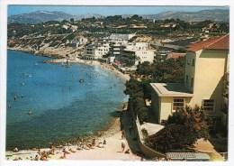 83-SANARY- Place De La Gorguette-Cpsm 1977 - Sanary-sur-Mer