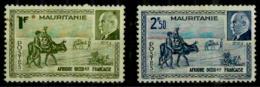 Mauritanie Y&T N° 123.124 Neufs* - Neufs