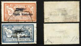 """N° PA 1+2 SALON MARSEILLE AUTHENTIQUE TB Cote 500 €  Signés Brun """"Hauban Cassé"""" - 1927-1959 Usati"""