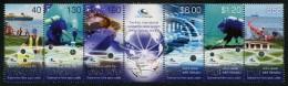 Fiji / Vanuatu (2014) - Strip Of 2 Sets -   /  Joint Issue - Communication - Submarine Cable System - Gemeinschaftsausgaben