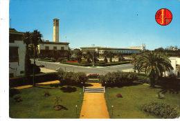 2 CPM CASABLANCA. Place De Nations Unies. Flamme 25 ème Anniversaire 1970 - Casablanca