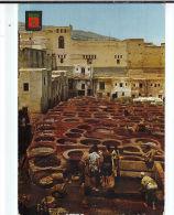 CPM N° 9 FEZ. Teinturiers. Flamme 1967 Annee Du Tourisme - Fez