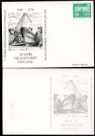 DDR PP16 C2/028 Privat-Postkarte ABKLATSCH Werft Schwerin 1978