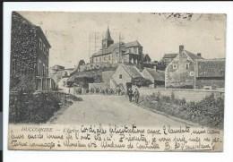 RARE Carte Ancienne -  BOURG De HUCCORGNE - Par WANZE (vers 1909) - Wanze