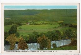 ÉTATS-UNIS . MASSANUTTEN MOUNTAIN IN SHENANDOAH VALLEY. VA. (SHENANDOAH, N. F.) - Réf. N°3836 - - Etats-Unis