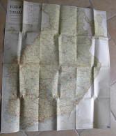 Carte Finlande 1948 - Maanmittaushallituksen Toimittama SUOMI FINLAND Bilistens Vägkarta - Carte Geographique