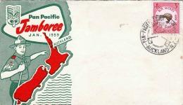 New Zealand 1959 - Boy Scouts, Pan Pacific Jamboree Jan.1959 - Neuseeland