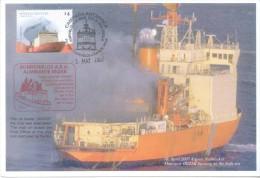 CAMPAÑA ANTARTICA ROMPEHIELOS ALMIRANTE IRIZAR FUEGO A BORDO ABRIL 2007 ICEBREAKER BURNING ON THE HIGH SEA - Sellos