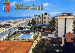 Rimini - Panorama - 130 - Formato Grande Viaggiata - Rimini