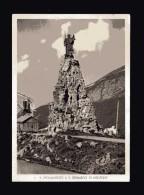 Valle D´Aosta - La Thuile - Il Monumento A S. Bernardo Di Mentone. Viaggiata Spedita 03/09/1940 - Italia