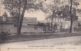 78 LES BRUYERES GAMBAIS   Vallée De Chevreuse  Route Et Maisons - Zonder Classificatie