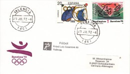 OLYMPISCHE SPIELE-OLYMPIC GAMES, SPAIN, 1992, Special Cancellation !! - Summer 1992: Barcelona