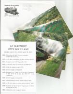 LE MASTROU Tournon Lamastre FETE SES 25 ANS Assemble Avec 4 Cartes Offre 3 - Trains