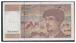 20F DEBUSSY 1997 - Q.060 - 1962-1997 ''Francs''