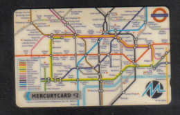 UNITED KINGDOM - MERCURYCARD  PHONECARD USED - United Kingdom