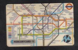 UNITED KINGDOM - MERCURYCARD  PHONECARD USED - [ 4] Mercury Communications & Paytelco
