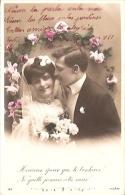 PAREJA DE ENAMORADOS-PAIR OF LOVERS Nº143 ED.J.K CIRCULEE CIRCA 1920 GECKO. - Koppels
