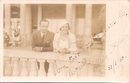 PAREJA DE ENAMORADOS-PAIR OF LOVERS EDIT.WILCOM VOYAGÉE VIAJADA 1933 GECKO. - Koppels