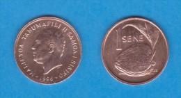 SAMOA I SISIFO  1  SENE  1.996  BRONCE  KM#12  EBC/SC  XF/UNC    DL-11.061