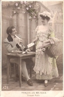 PAREJA COUPLE PAAR MA MOITIÉ LOVERS BOYFRIENDS NOVIOS GROOMS Nº297 EDIT. A.S CIRCULEE 1925 GECKO. - Koppels