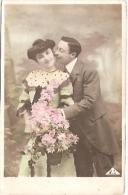 PAREJA COUPLE PAAR MA MOITIÉ LOVERS MARRIAGE CASAMIENTO ED.B.A  VOYAGÉE VIAJADA CIRCA 1906 GECKO. - Koppels