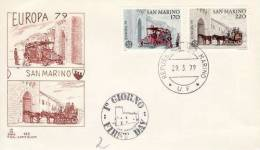 SAN MARINO 1979 EUROPA CEPT FDC - 1979
