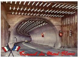 (ORL 551) Douane - Zoll - Customs - Borders - France / Italy - Mt Blanc Tunnel Chamonix - Courmayeur - Douane