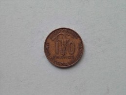 1957 - 10 Francs / KM 8 ( Uncleaned - Details Zie Foto´s ) ! - Togo