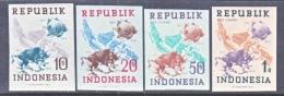 INDONESIA   62 A -5 A  IMPERF.    *    WMK. 404 - Indonesia