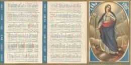 CALENDARIETTO  ORFANOTROFIO RR. CONCEZIONISTI SARONNO ANNO 1957 - Calendriers