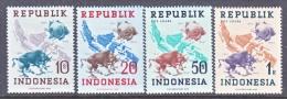 INDONESIA   66-9 .    *    No Wmk. - Indonesia