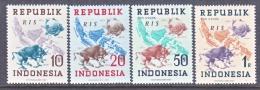 INDONESIA   66-9     *    No Wmk.  R I S - Indonesia