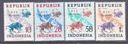 INDONESIA   66-9     *    No Wmk.  MERDEKA - Indonesia