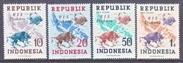 INDONESIA   66-9     *    No Wmk.  DJAKARTA - Indonesia