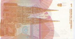 Billet De Banque, Banknote, Biglietto Di Banca, Bankbiljet, Croatie, Republika Hrvatska, 1 Jedan Dinar, 1991 Zagreb NEUF - Croatie