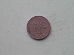 1926 - 50 Cent Belgisch / KM 23 ( Uncleaned - Details Zie Foto´s ) ! - Congo (Belgian) & Ruanda-Urundi