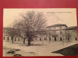 30 Gard UZES Intérieur Du Collège - Uzès