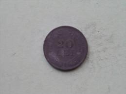 1942 - 20 LEI / KM 62 ( Uncleaned - Details Zie Foto´s ) ! - Roumanie