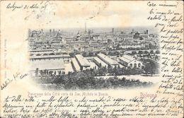 [DC5904] CARTOLINA - BOLOGNA - PANORAMA DA SAN MICHELE IN BOSCO - Viaggiata - Old Postcard - Bologna